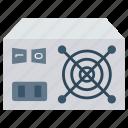 computer, desktop, hardware, mainframe, pc icon