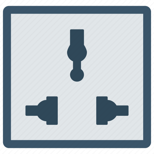 Electric, energy, plug, power, socket icon - Download on Iconfinder