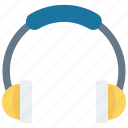 audio, headphone, headset, music, song icon