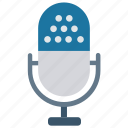 audio, microphone, mike, recording, sound icon