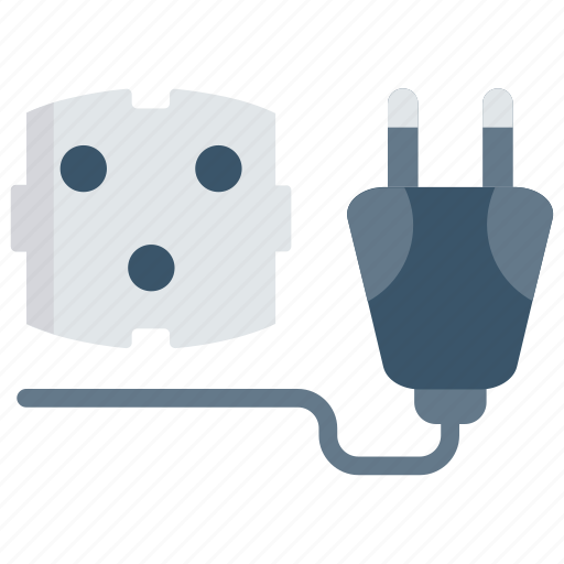 Adapter, connector, electric, plug, socket icon - Download on Iconfinder