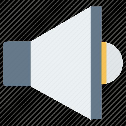 Advertisement, announcement, loud, megaphone, speaker icon - Download on Iconfinder