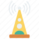 antenna, signal, stellite, tower, wireless icon