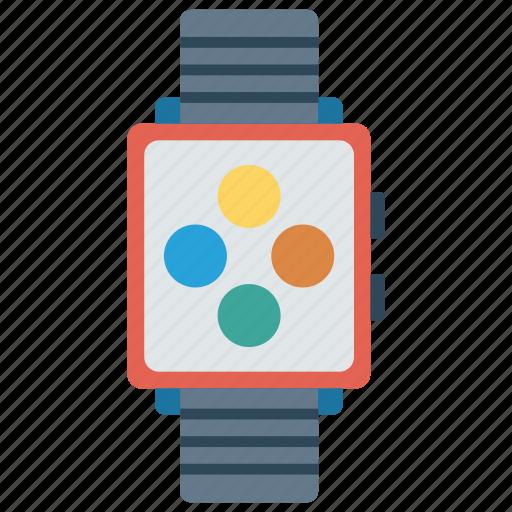 Clock, device, gadget, watch, wrist icon - Download on Iconfinder