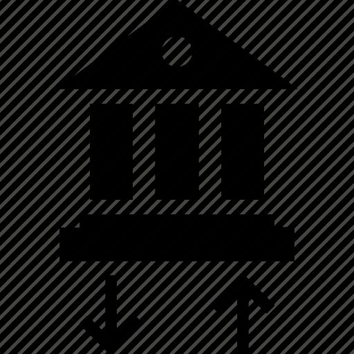 activity, bank, bankng icon