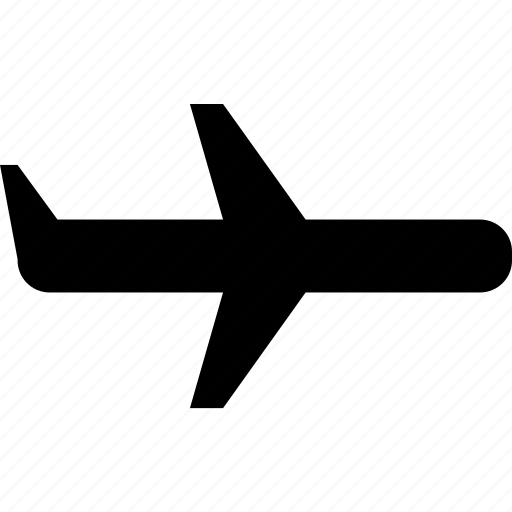 airline, airplane, plane icon
