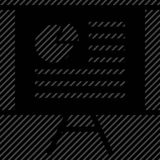 board, chart, graphic icon