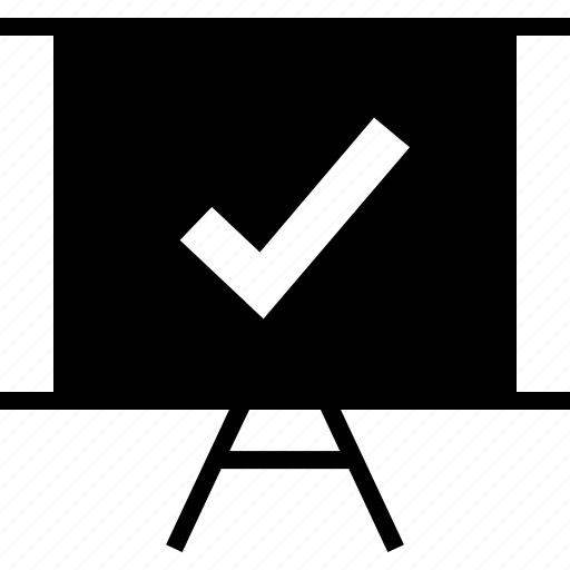 board, check, mark icon