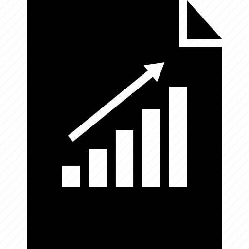 data, graphic, sale icon
