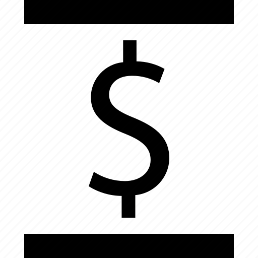 dollar, page, report icon