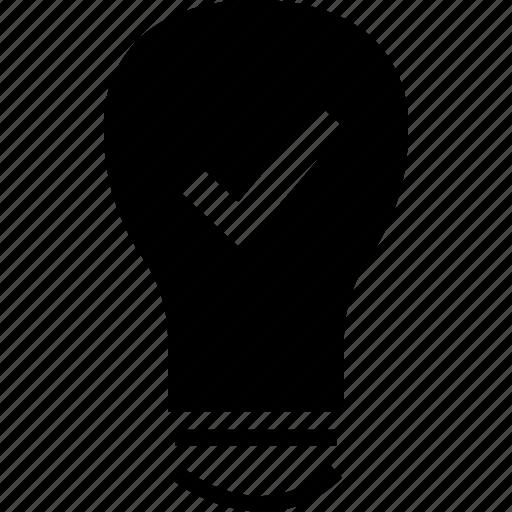 bright, idea, light icon