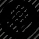 money, settings, work icon