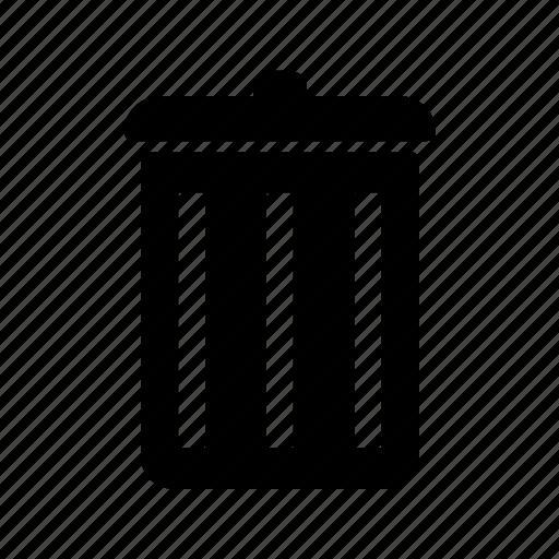 bin, cancel, close, delete, remove, stop, trash icon