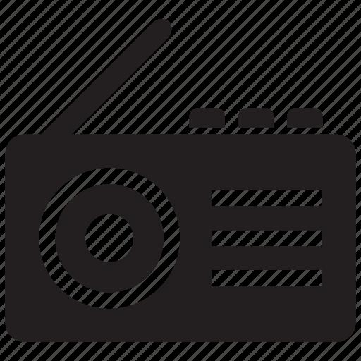 audio, casette, radio icon