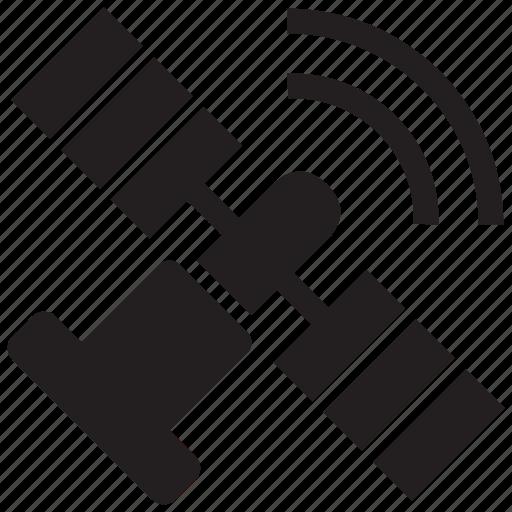 antenna, satellite, signal, space icon