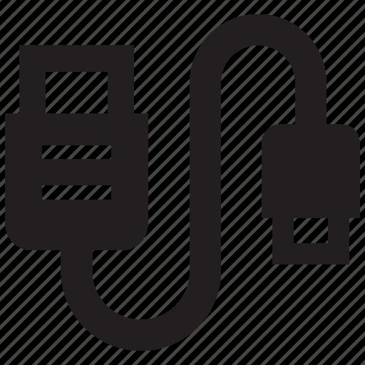 cable, micro usb, usb icon