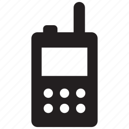 talkie, transceiver, walkie, walkie talkie icon