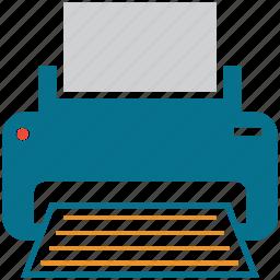 copier, electric, fax machine, printer icon