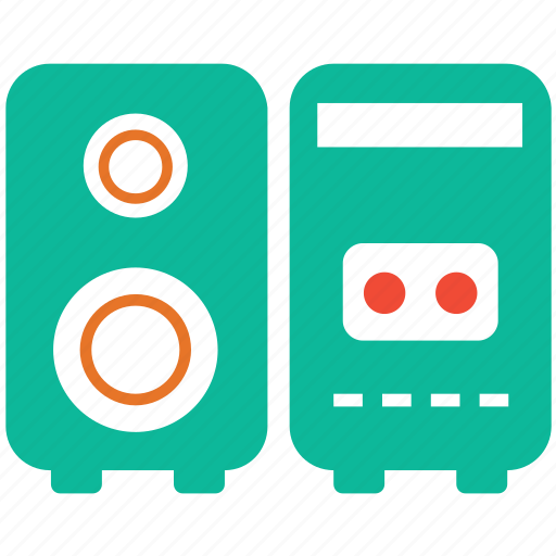 audio equipment, music speaker box, speaker box, speakers icon