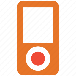 ipod, mp3 player, mp4 player, music player icon