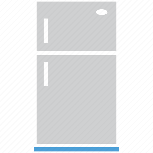 fridge, fridge with freezer, kitchen, refrigerator icon