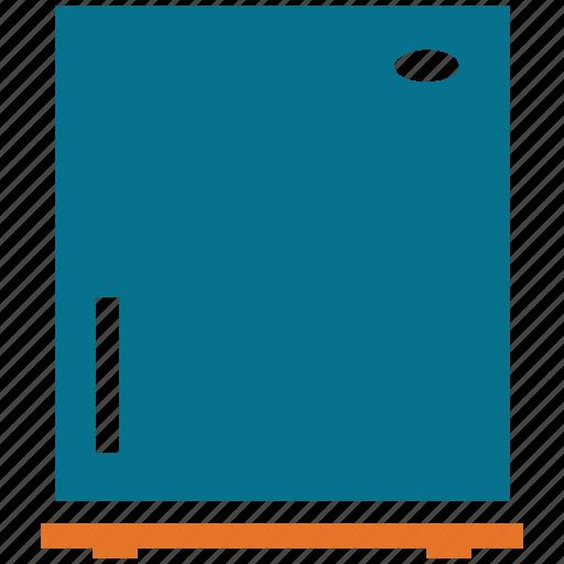 electric, fridge, refrigerator, refrigerator with freezer icon