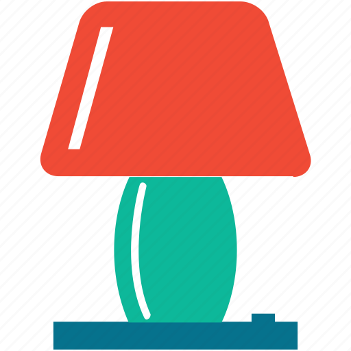 electric, lamp, light bulb, table lamp icon
