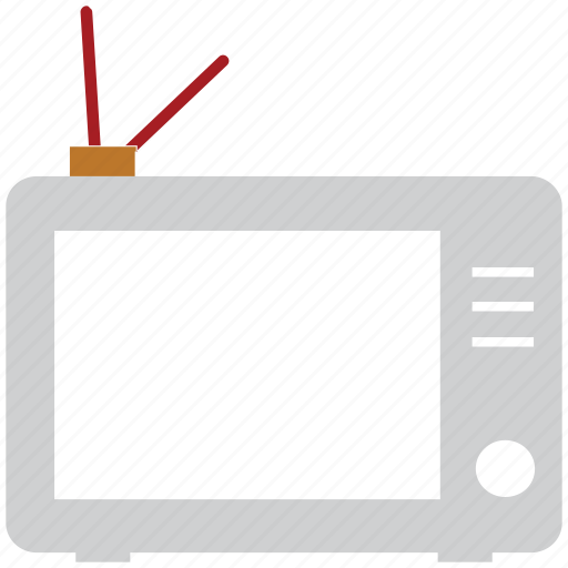 electric, monitor, television, tv icon