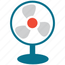 electric fan, fan, mini fan, small fan icon