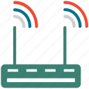 router, wifi router, wireless lan router, wireless router icon