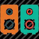 audio speakers, music speaker box, speakers, audio equipment