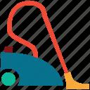 vacuum, cleaner, hoover, wiping vacuum icon