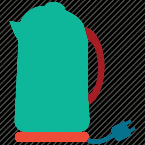 electric kettle, electronic, kettle, teakettle icon