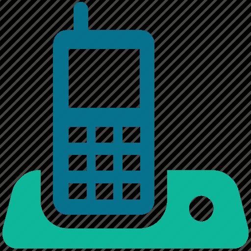 cordless, cordless landline phone, cordless phone, cordless telephone icon
