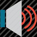 full volume, level, speaker, volume icon