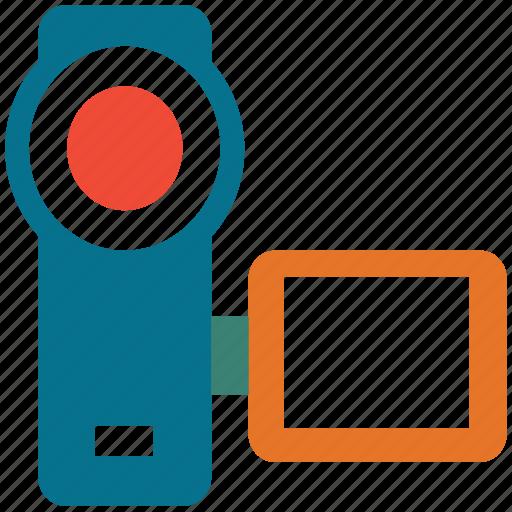 camcorder, camera, video camcorder, video camera icon