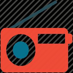 radio, radio with antenna, wifi radio, wireless radio icon