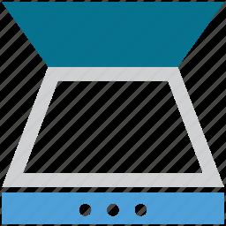 film scanner, flatbed scanner, photo scanner, scanner icon