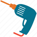 drill, drill machine, drilling machine, power drill icon