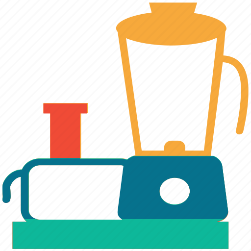 electric, food processing, food processor, kitchen icon