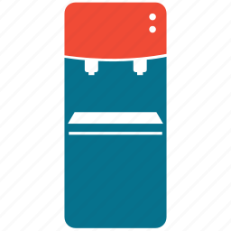 dispenser, ice maker, standing water dispenser, water dispenser icon