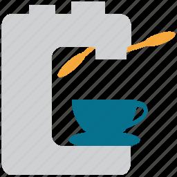 coffeemachine, coffeemaker, electric coffee machine, electric coffee maker icon