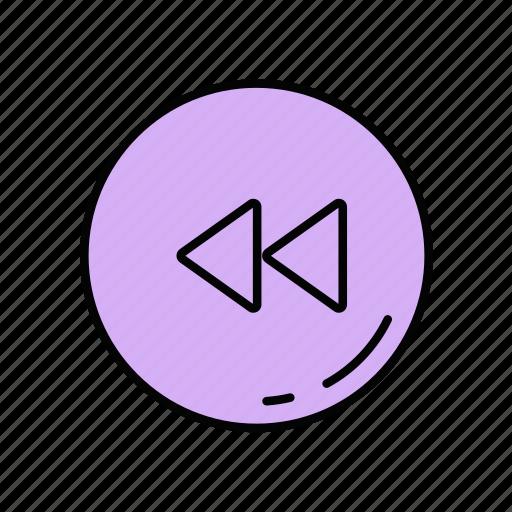 arrows, backward, left, move icon