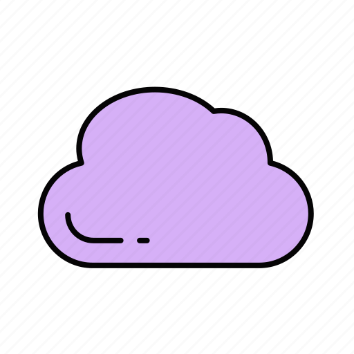 cloud, cloudy, storage, sun, weather icon