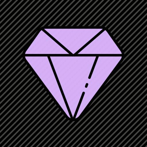 diamond, heart, love, ring icon