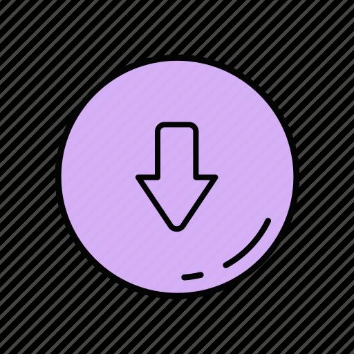 download, file, guardar, save, upload icon