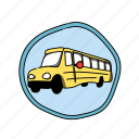 school, schoolbus, color, bus, vehicle, elementary, car