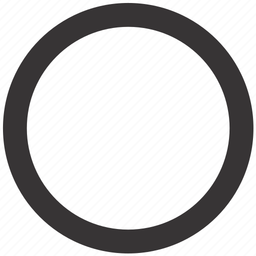 circle, geometry, ring, round, shape icon