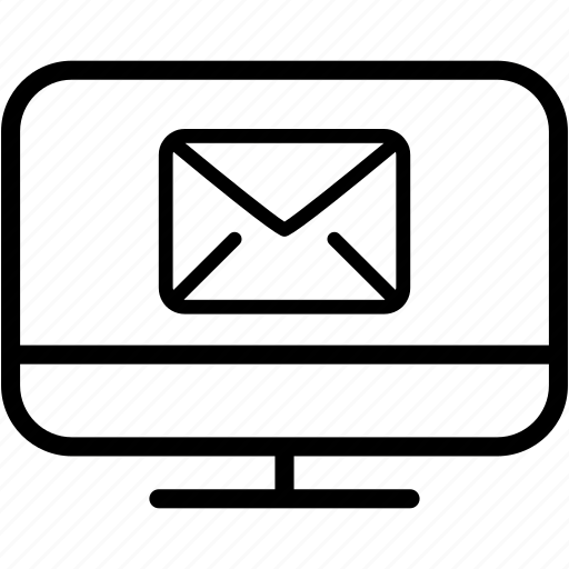 communication, email, envelope, lcd, letter, mail, message icon