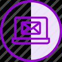 email, envelope, inbox, internet, laptop, letter, mail